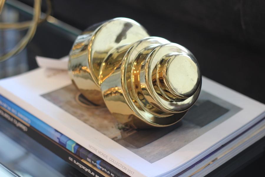 cómo decorar con dorado - adornos dorados para la casa